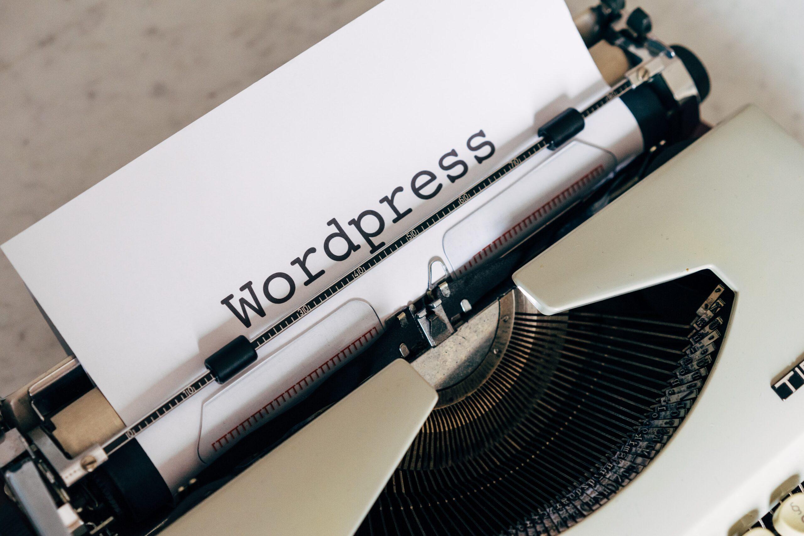WordPress Webfuturesolutions